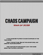 War of 3039 Cover