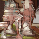 Battletech - Phantom Mech - DC Assault Lance (Side view)