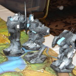 Battletech - Phantom Mech Scenario - Kell Hounds Command Lance (Shadow Hawk, Catapult, Archer (Morgan Kells), and Longbow)