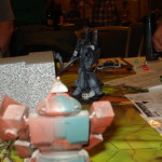 Battletech - Phantom Mech Scenario - Kell Hounds - Phoenix Hawk cornered by DC Wolverine