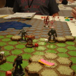 Battletech - Touchpoint Wei - Liao Assault Lance facing off with Republic heavy lance
