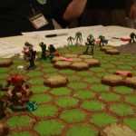 Battletech - Touchpoint Wei - Republic forces charging the Liao defenders